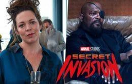 'Invasão Secreta': Olivia Colman negocia para se juntar ao elenco de série da Marvel
