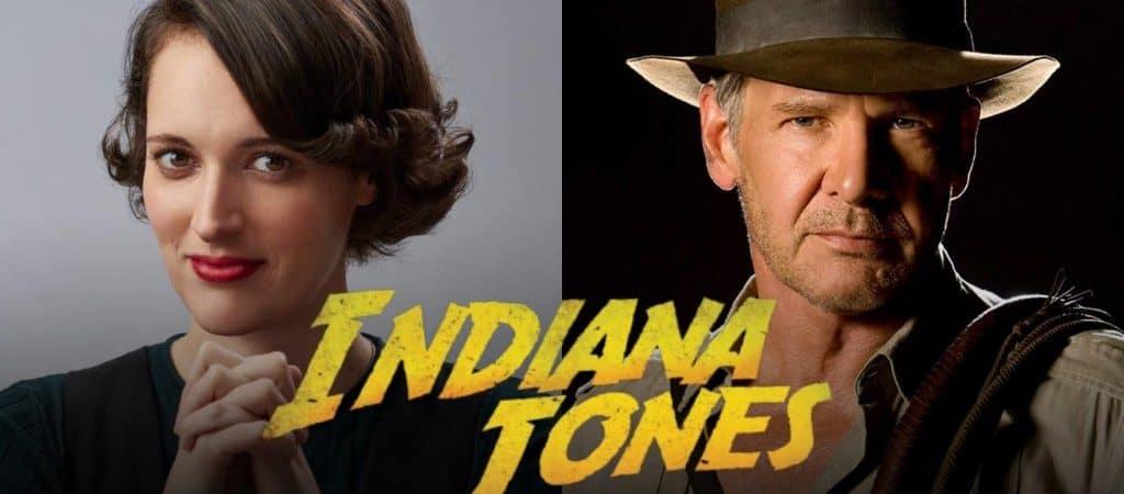 Phoebe Waller-Bridge, de 'Fleabag', estrelará Indiana Jones 5 ao lado de Harrison Ford. Imagem: The DisInsider/Reprodução