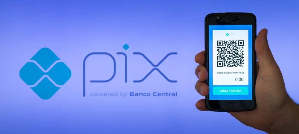 Logo do sistema de pagamento Pix