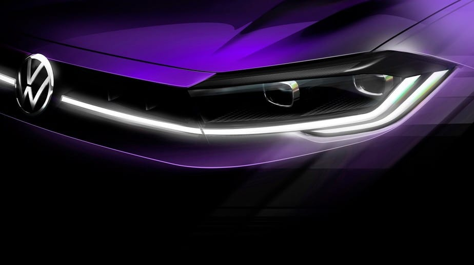 Polo 2022 will be announced on April 22. Image: Volkswagen / Disclosure
