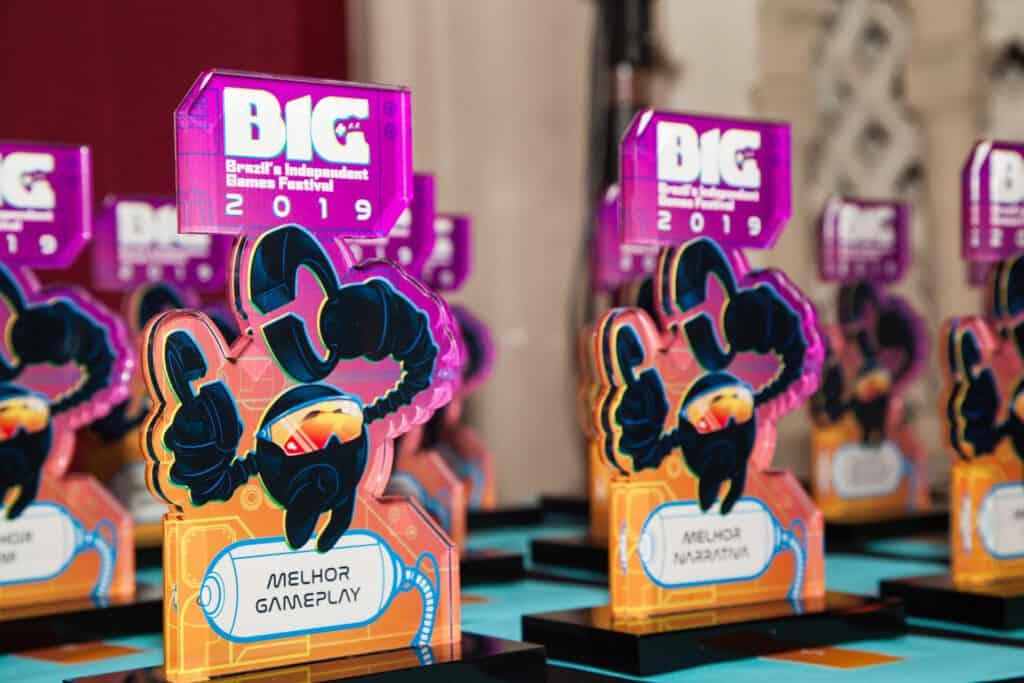 Premiações de jogos indies ocorrerão normalmente no BIG Festival 2021, mesmo em forma digital. Imagem: Divulgação