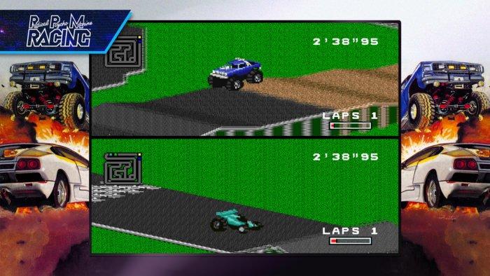 RPM Racing na Blizzard Arcade Collection (Imagem: Divulgação/Blizzard)