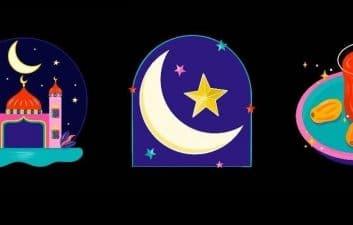 Ramadán en Instagram: que son y como usar las pegatinas