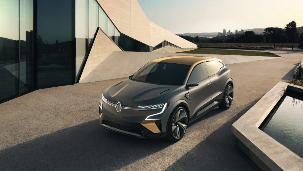 Renault Mégane eVision Concept. Imagem: Divulgação