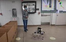 Pesquisadores desenvolvem cão-guia robô para auxiliar deficientes visuais