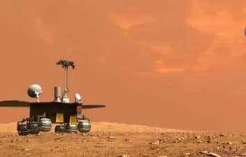 """God of fire"": Chinese space agency christens Zhurong's Martian rover"