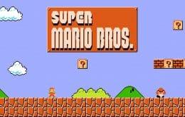 Técnica multiuso: robô impresso em 3D joga Super Mario Bros.