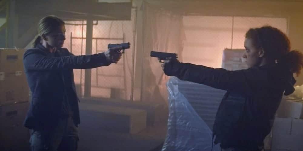 Sharon Carter revela ser o Mercador do Poder e mata Karli. Imagem: Marvel Studios/Divulgação