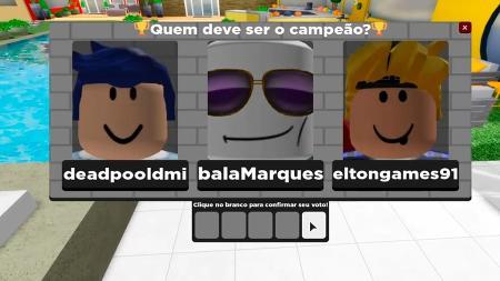 Paredão do Big Blox Brasil tem até sistema de autenticação. Imagem: Reprodução/Big Blox Brasil