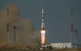 Encontro espacial: Mais 3 astronautas viajam até à ISS e agora a estação reúne 10 tripulantes