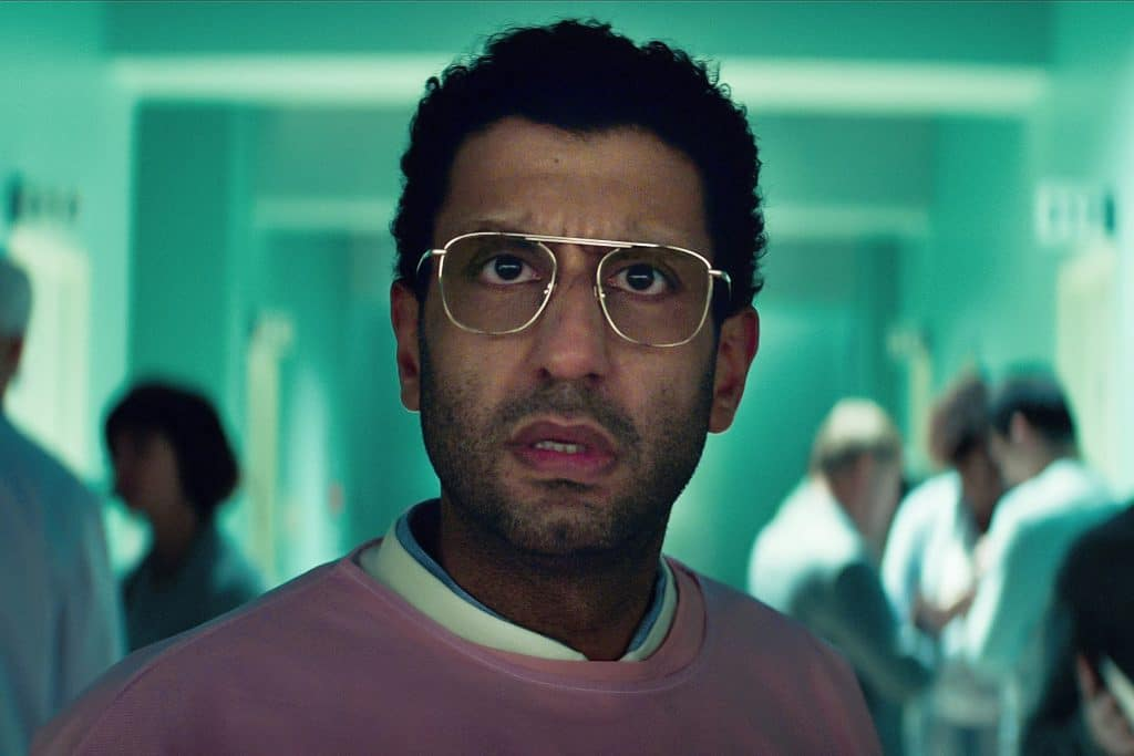 Adeel Akhtar as Dr. Aditya Singh in 'Sweet Tooth'. Image: Kirsty Griffin / Netflix