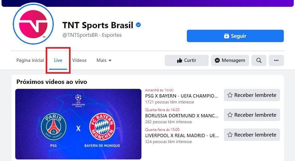 Créditos: TNT Sports Brasil