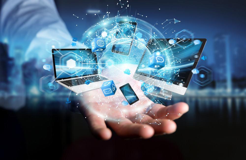 Representação gráfica da tecnologia da informação