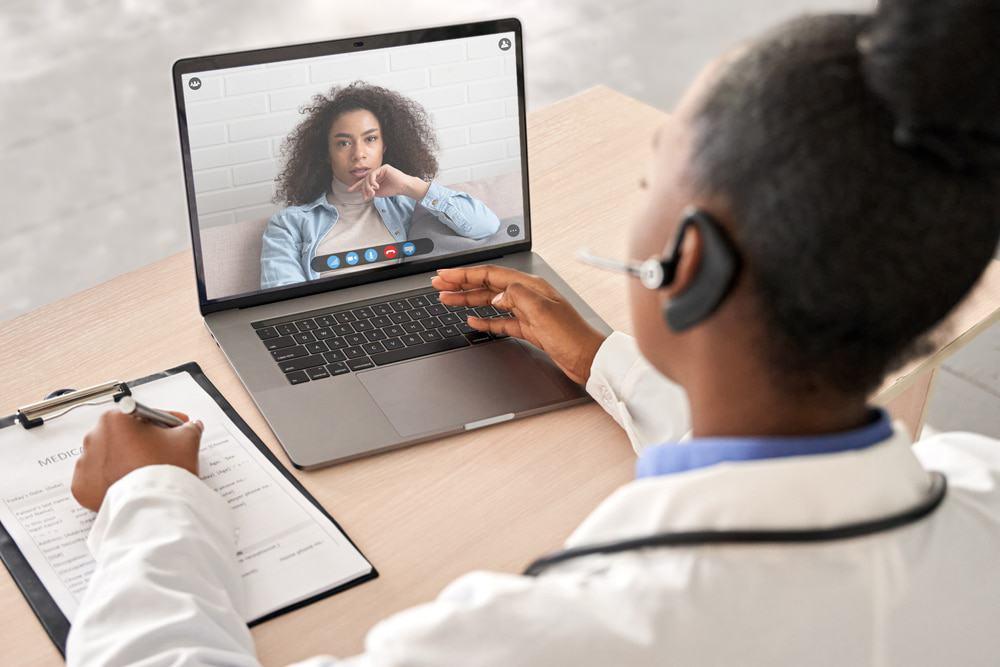 Atendimento de saúde on-line