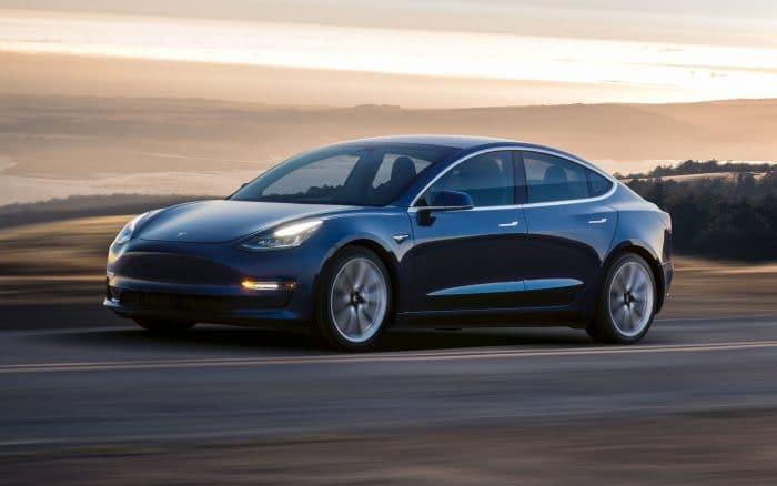 Tesla Model 3. Imagem: Tesla/Divulgação