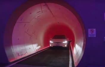 La presentación de los túneles de Elon Musk en Las Vegas no emociona