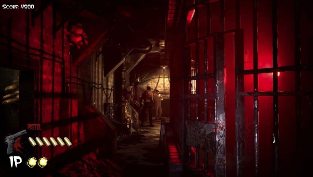 The House of the Dead': remake ganha trailer e é confirmado para Nintendo Switch. Imagem: Megapixel Studio/Reprodução
