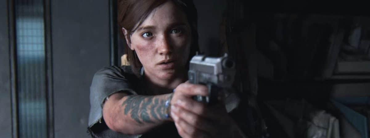 Ellie em 'The Last Of Us 2'. Imagem: Naughty Dog/Divulgação