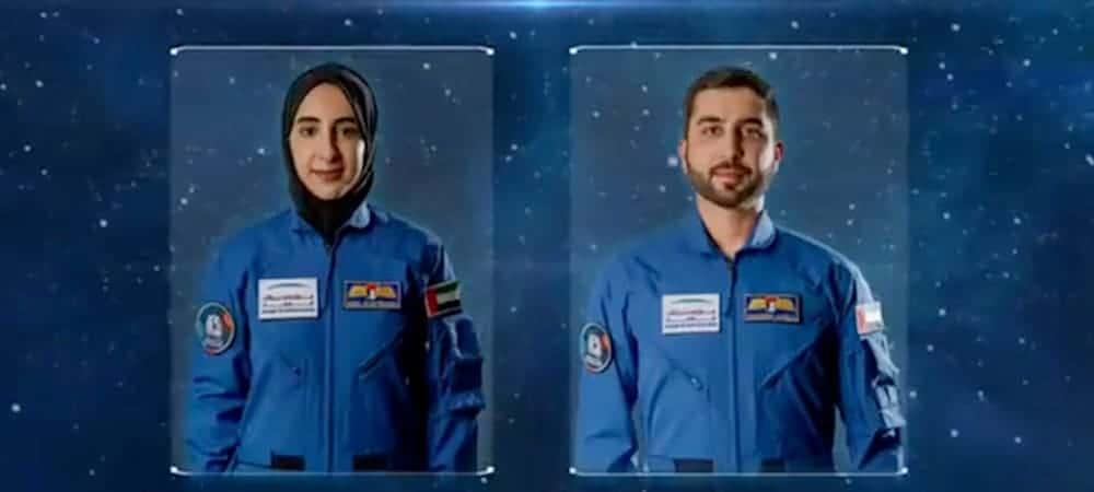 Nora AlMatrooshi e Mohammad AlMulla, novos astronautas da UAE