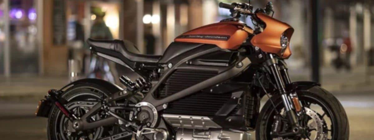 Uma das motos elétricas da Harley-Davidson, a LiveWire. Imagem: Divulgação
