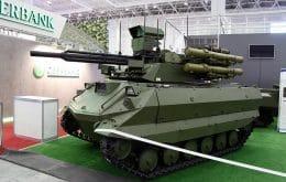 Rússia trabalha no desenvolvimento de unidade militar com tanques robôs