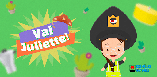 Cover of the game 'Vai Juliette!', Available on the Play Store. Image: Reproduction