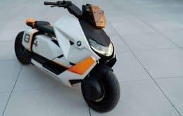 BMW CE 04: scooter eléctrico ultrafuturista prueba al público antes de entrar en producción
