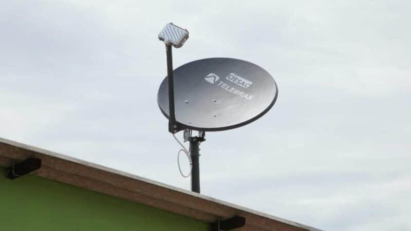 Antena de Wi-Fi do programa Wi-Fi Brasil