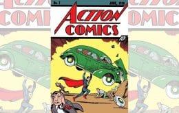 HQ com primeira aparição do Superman é vendida por US$ 3,25 milhões