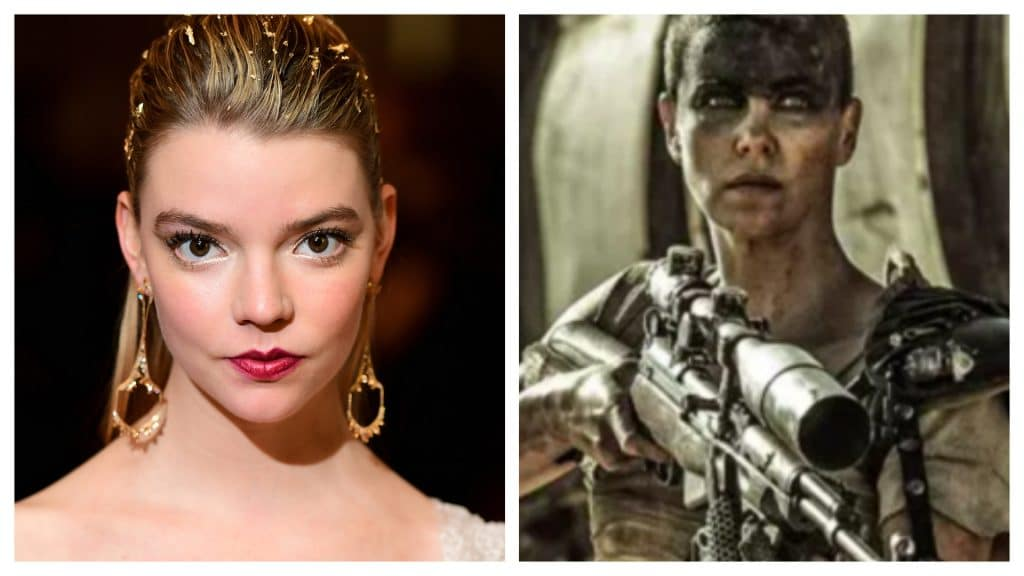 """Montage shows Anya Taylor-Joy and Charlize Theron, characterized as the character """"Furiosa"""": film about her will start to be produced in 2022"""