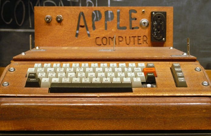 Apple 1: The first product in the history of Apple Computers turns 45