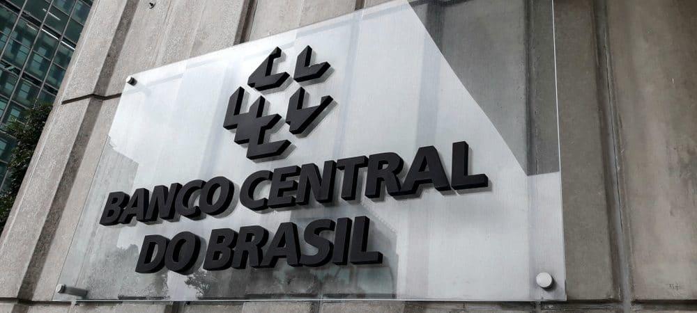 Imagem mostra logo do Banco Central do Brasil, o Bacen