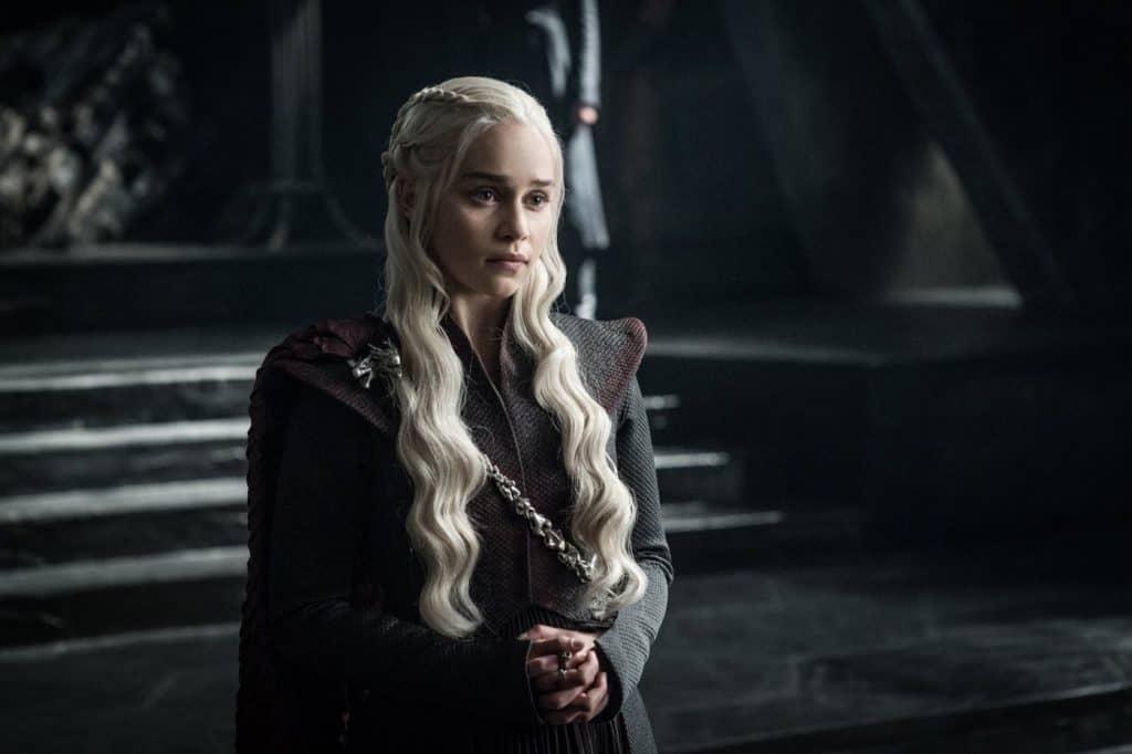 Daenerys Targaryen, em 'Game of Thrones'. Imagem: HBO/Divulgação