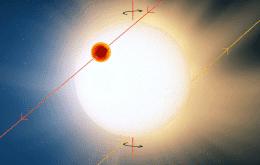 Cientistas descobrem planeta com temperaturas que derretem metais