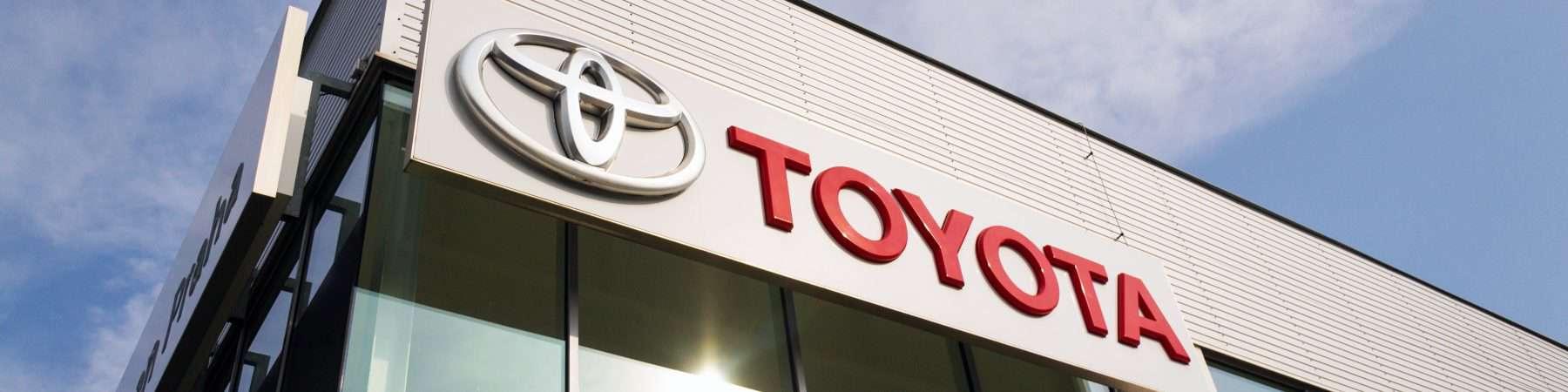 Toyota facade