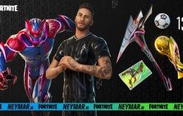 'Fortnite': skin de Neymar Jr. chega ao battle royale