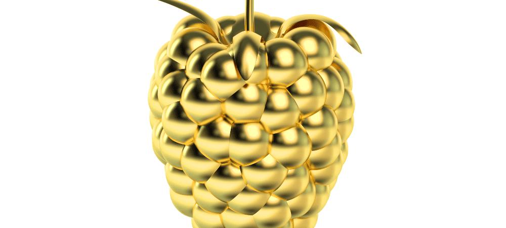 framboesa de ouro