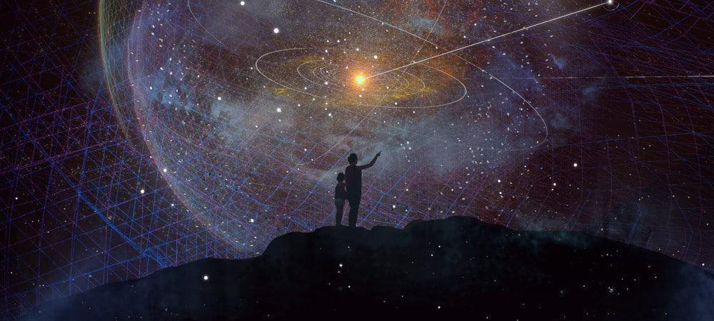 Ilustração da missão Interstellar Probe, da Nasa
