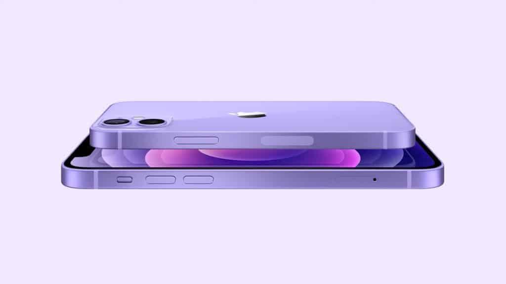 Roxo é a nova cor do iPhone 12.