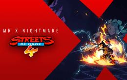'Streets of Rage 4' receberá DLC 'O Pesadelo de Mr. X'