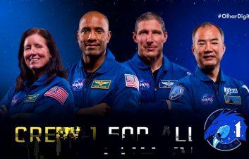 Mais tempo no espaço: Mau tempo adia retorno da missão Crew-1 à Terra