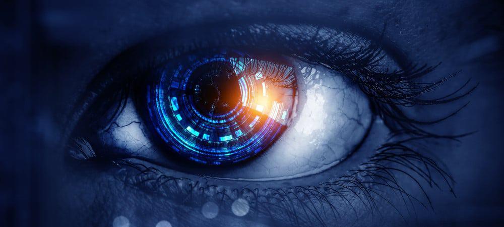 Ilustración que representa el concepto Bionic Eye