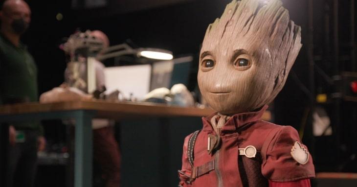 robô autônomo do personagem Groot