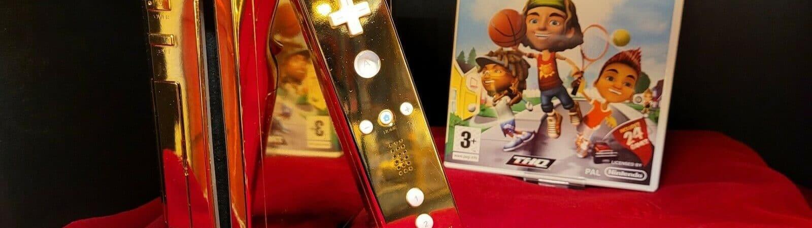 Nintendo Wii de ouro