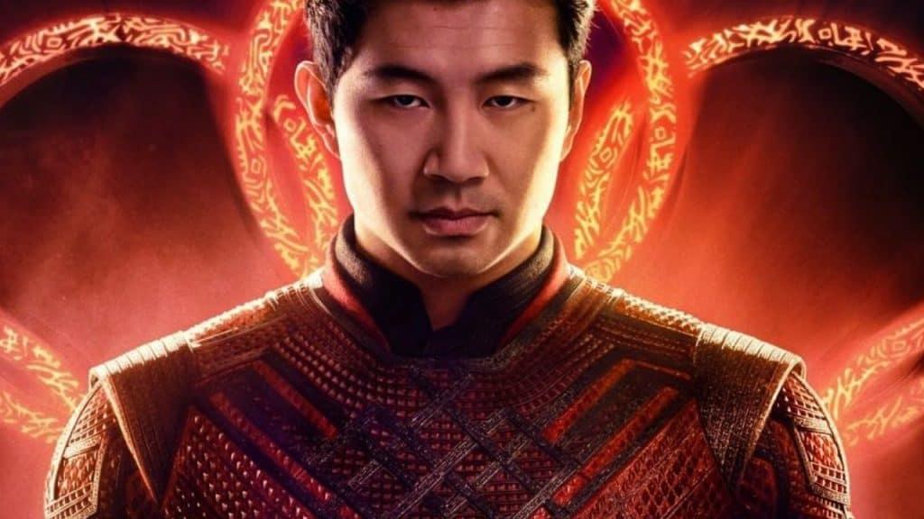 """Recorte do pôster oficial do filme """"Shang-Chi e a Lenda dos Dez Anéis"""", da Marvel"""