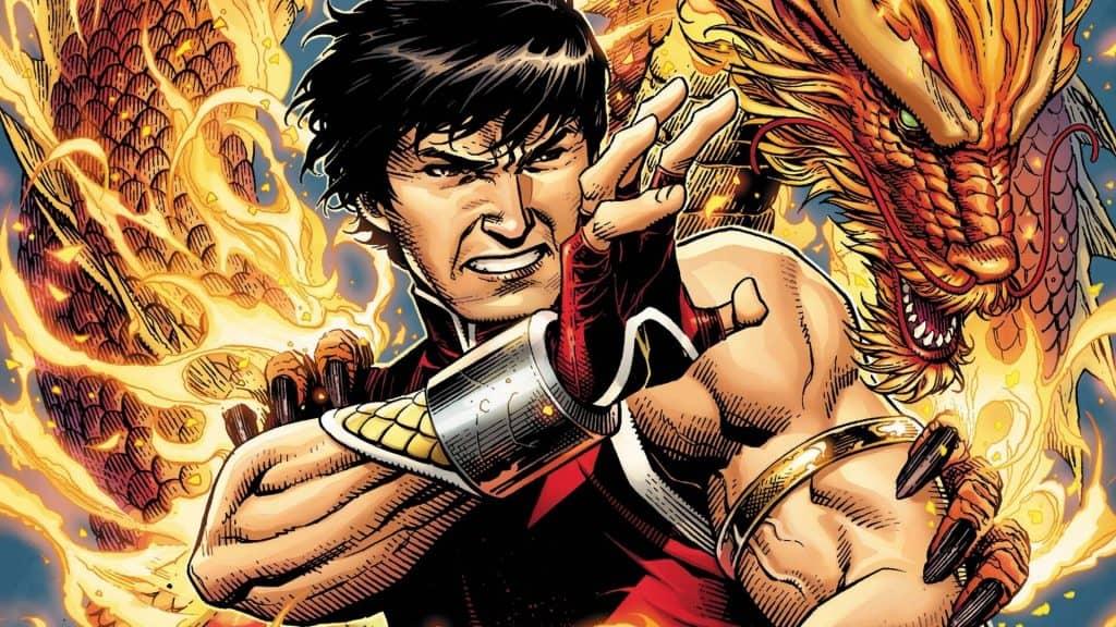 Captura mostra um painel do personagem Shang-Chi nos quadrinhos da Marvel