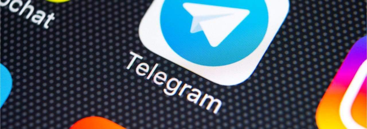 Imagem mostra ícone do aplicativo Telegram
