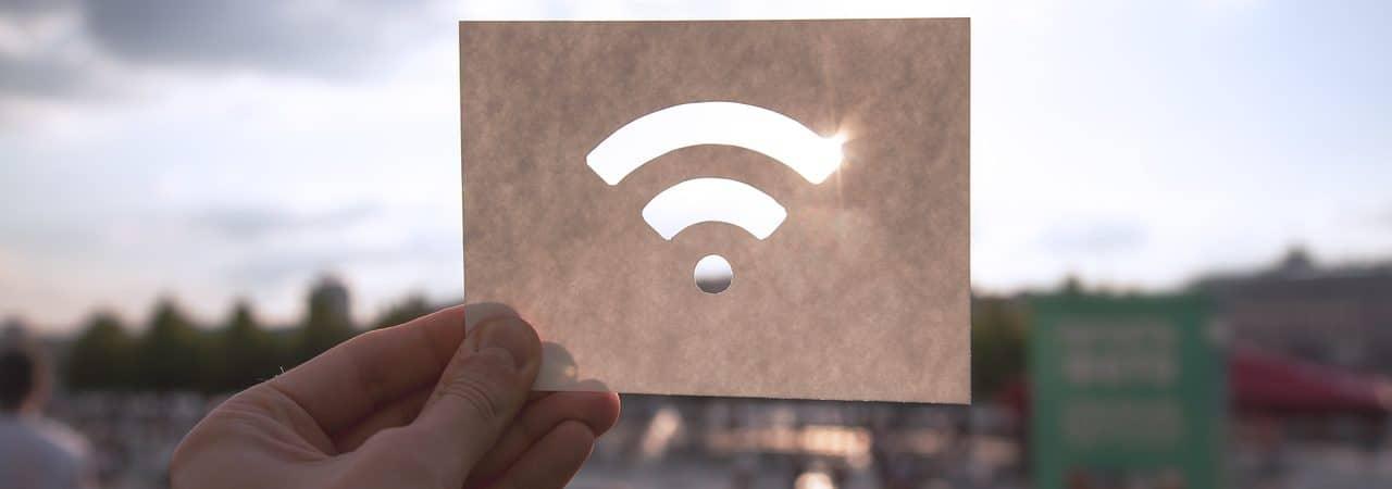 Ilustração de rede Wi-Fi