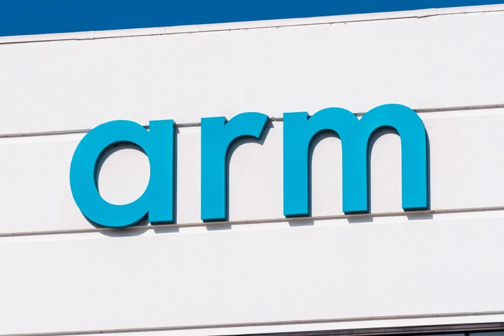 Fachada da empresa ARM