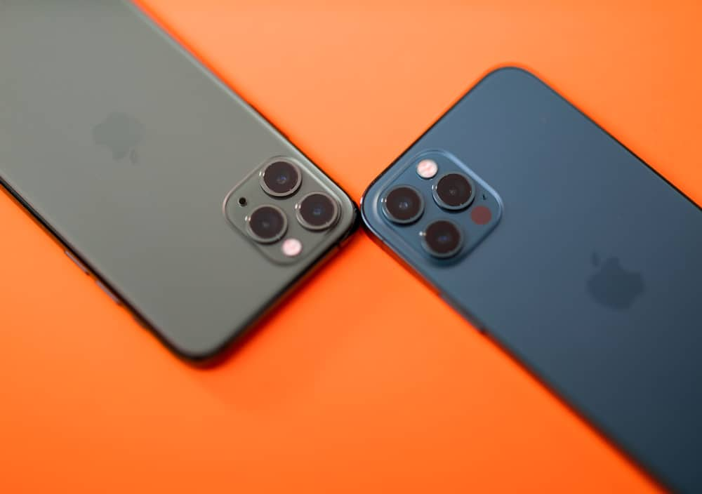 iPhone 11 Pro e iPhone 12 Pro Max